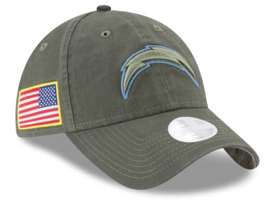 Los Angeles Chargers New Era 2017 NFL Women's Salute To Service 9TWENTY Cap