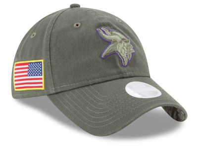 Minnesota Vikings New Era 2017 NFL Women's Salute To Service 9TWENTY Cap