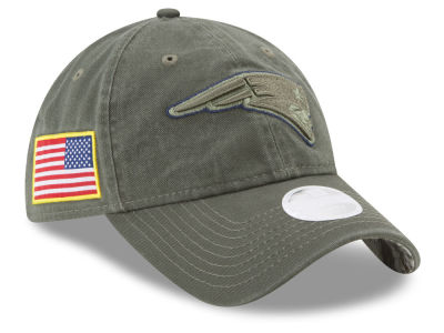 New England Patriots New Era 2017 NFL Women's Salute To Service 9TWENTY Cap