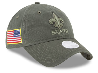 New Orleans Saints New Era 2017 NFL Women's Salute To Service 9TWENTY Cap