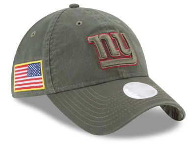 New York Giants New Era 2017 NFL Women's Salute To Service 9TWENTY Cap