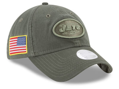 New York Jets New Era 2017 NFL Women's Salute To Service 9TWENTY Cap