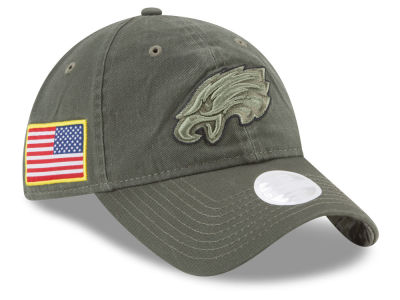 Philadelphia Eagles New Era 2017 NFL Women's Salute To Service 9TWENTY Cap