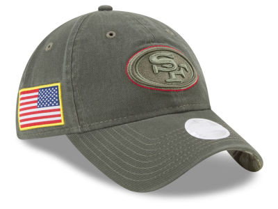 San Francisco 49ers New Era 2017 NFL Women's Salute To Service 9TWENTY Cap
