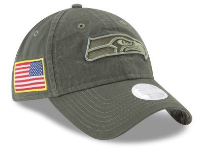 Seattle Seahawks New Era 2017 NFL Women's Salute To Service 9TWENTY Cap
