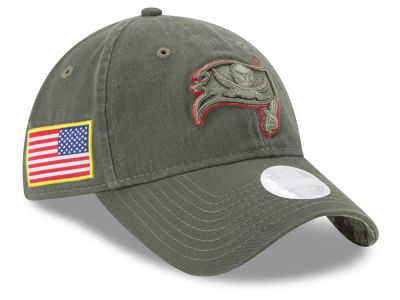 Tampa Bay Buccaneers New Era 2017 NFL Women's Salute To Service 9TWENTY Cap