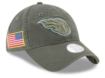 Tennessee Titans New Era 2017 NFL Women's Salute To Service 9TWENTY Cap