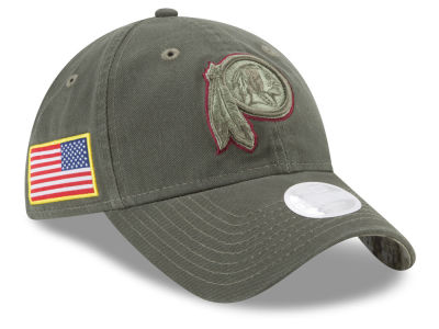 Washington Redskins New Era 2017 NFL Women's Salute To Service 9TWENTY Cap