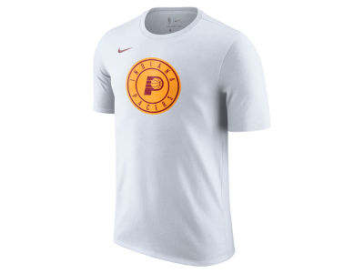 Indiana Pacers Nike NBA Men's Hardwood Classics Logo T-Shirt