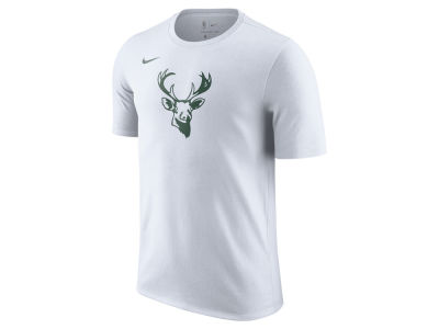 Milwaukee Bucks NBA Men's Hardwood Classics Logo T-Shirt