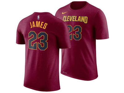 Cleveland Cavaliers LeBron James Nike NBA Men's Icon Player T-shirt