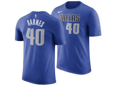 Dallas Mavericks Harrison Barnes Nike NBA Men's Icon Player T-shirt