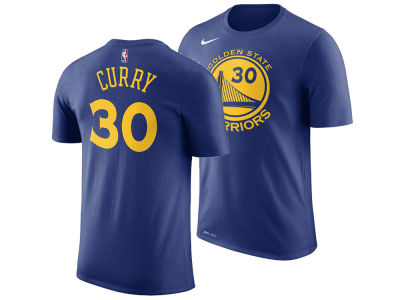 Golden State Warriors Stephen Curry Nike NBA Men's Name And Number Player T-Shirt