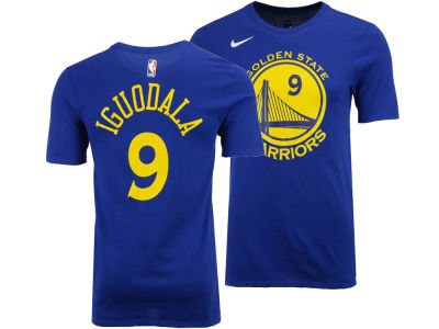 Golden State Warriors Andre Iguodala Nike NBA Men's Icon Player T-shirt