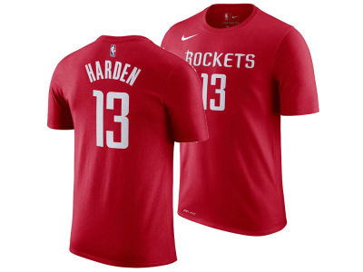 Houston Rockets James Harden Nike NBA Men's Name And Number Player T-Shirt