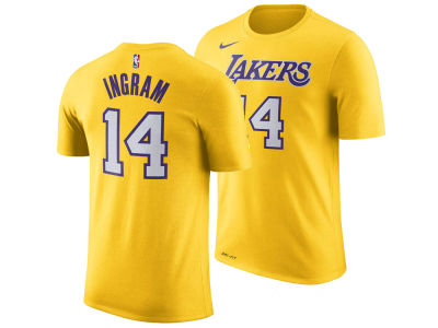Los Angeles Lakers Brandon Ingram Nike NBA Men's Icon Player T-shirt