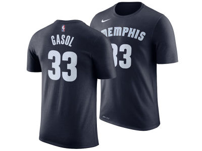 Memphis Grizzlies Marc Gasol Nike NBA Men's Icon Player T-shirt