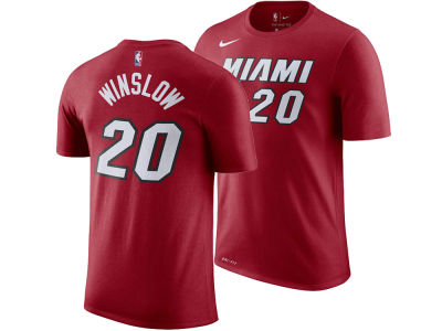 Miami Heat Justise Winslow Nike NBA Men's Name And Number Player T-Shirt
