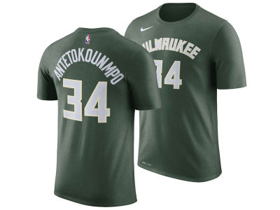 Milwaukee Bucks Giannis Antetokounmpo Nike NBA Men's Icon Player T-shirt