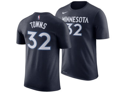 Minnesota Timberwolves Karl-Anthony Towns Nike NBA Men's Name And Number Player T-Shirt