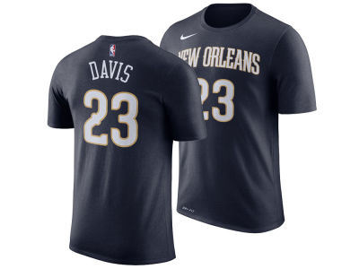 New Orleans Pelicans Anthony Davis Nike NBA Men's Icon Player T-shirt