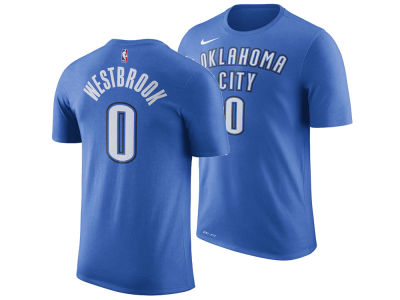 Oklahoma City Thunder Russell Westbrook Nike NBA Men's Name And Number Player T-Shirt