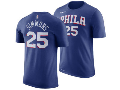 Philadelphia 76ers Ben Simmons Nike NBA Men's Icon Player T-shirt