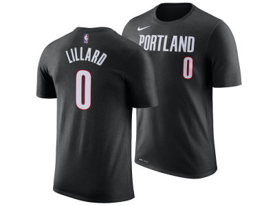 Portland Trail Blazers Damian Lillard Nike NBA Men's Name And Number Player T-Shirt