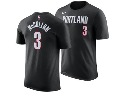 Portland Trail Blazers C. J. McCollum Nike NBA Men's Icon Player T-shirt