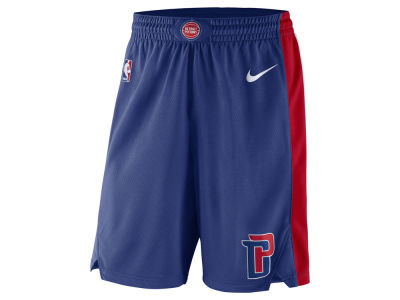 Detroit Pistons Nike NBA Men's Icon Swingman Short