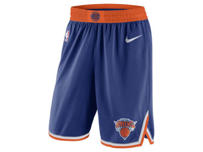 New York Knicks Nike NBA Men s Icon Swingman Shorts 8bbf10a21