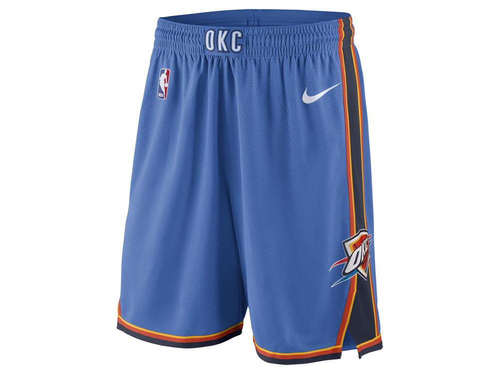 Oklahoma City Thunder Nike NBA Men s Icon Swingman Shorts  42ce01e62