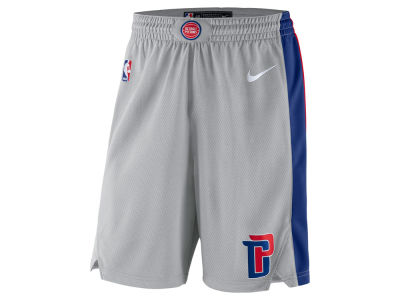 Detroit Pistons Nike NBA Men's Statement Swingman Shorts