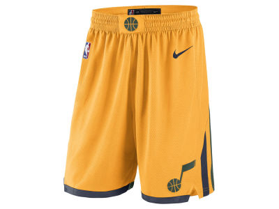 Utah Jazz Nike NBA Men's Statement Swingman Shorts