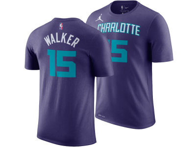Charlotte Hornets Kemba Walker Nike NBA Men's Statement Player T-shirt
