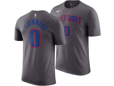 Detroit Pistons Andre Drummond Nike NBA Men's Name And Number Player T-Shirt