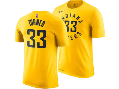 Indiana Pacers Myles Turner Nike NBA Men's Statement Player T-shirt