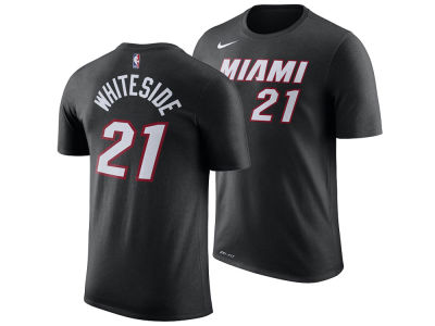 Miami Heat Hassan Whiteside Nike NBA Men's Icon Player T-shirt