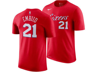 Philadelphia 76ers Joel Embiid Nike NBA Men's Name And Number Player T-Shirt