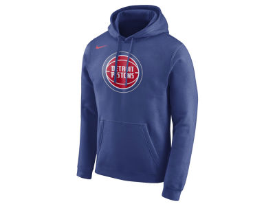Detroit Pistons Nike NBA Men's Logo Club Hoodie