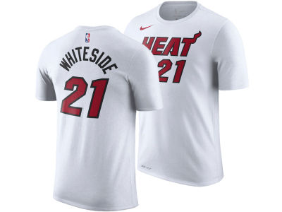 Miami Heat Hassan Whiteside Nike NBA Men's Association Player T-Shirt