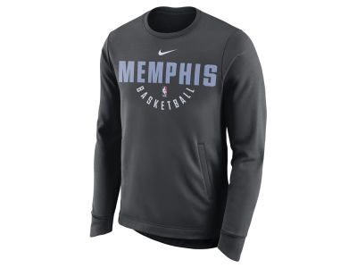 Memphis Grizzlies Nike NBA Men's Practice Therma Crew Sweatshirt
