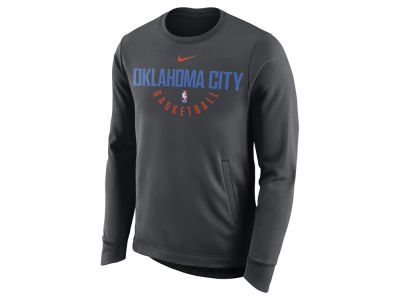 Oklahoma City Thunder Nike NBA Men's Practice Therma Crew Sweatshirt