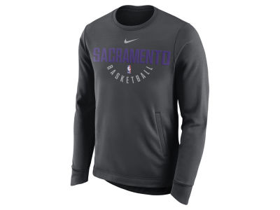 Sacramento Kings Nike NBA Men's Practice Therma Crew Sweatshirt