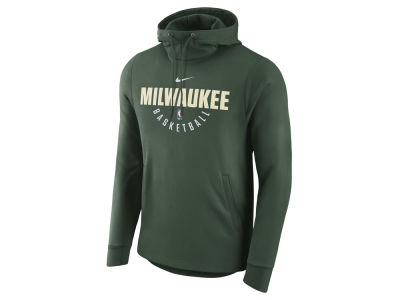 Milwaukee Bucks Nike NBA Men's Practice Therma Hoodie
