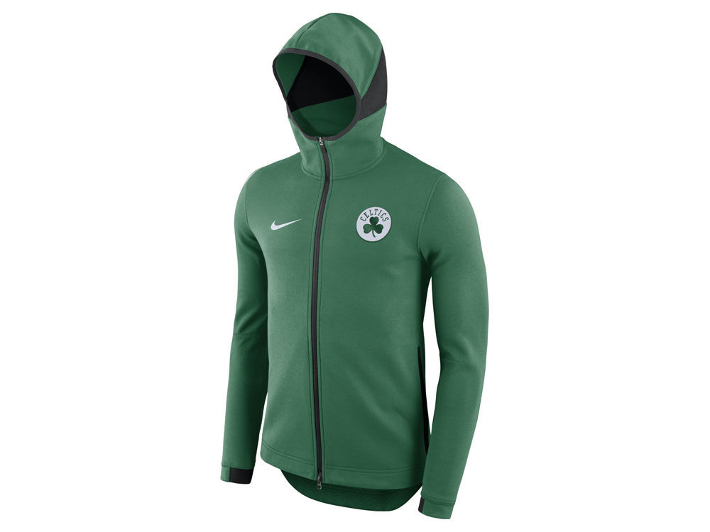 Boston Celtics Nike NBA Men s Dry Showtime Full Zip Hoodie  1ed8e5ada75