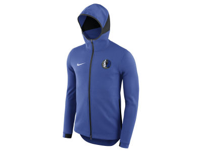 Dallas Mavericks Nike NBA Men's Dry Showtime Full Zip Hoodie