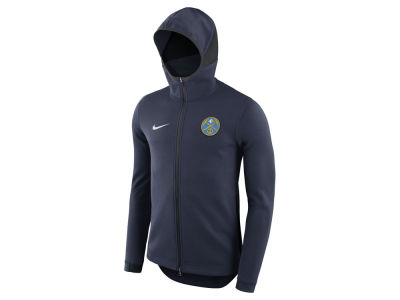 Denver Nuggets Nike NBA Men's Dry Showtime Full Zip Hoodie