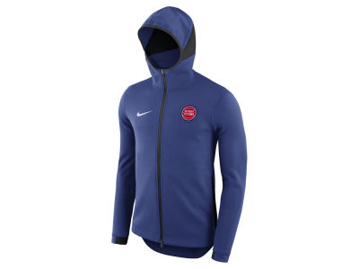 Detroit Pistons Nike NBA Men's Dry Showtime Full Zip Hoodie