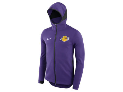 Los Angeles Lakers Nike NBA Men's Dry Showtime Full Zip Hoodie